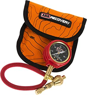 ARB ARB505 E-Z Deflator Kit 10-60 PSI Tire Pressure Gauge Rapid Air Down Offroad Kit (PSI),Orange