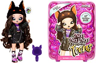 Na Na Na Surprise Teens Fashion Pop, REBEL DARE. Verzamelbare, grote, zachte pop met luxe outfit en accessoires. Teens Ser...