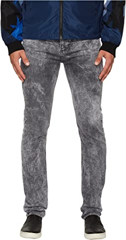 Versace Jeans Slim Fit Jeans in Medium Grey Wash