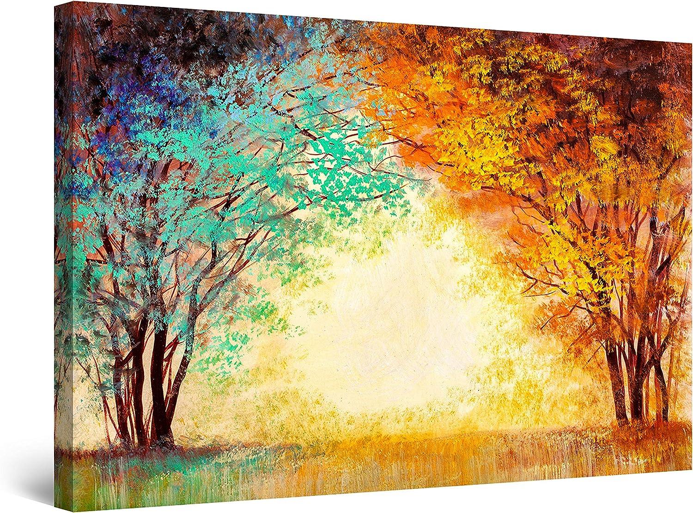 Startonight Canvas Wall Art Abstract of 初売り 安心の定価販売 Tranquility - Sunrise Th
