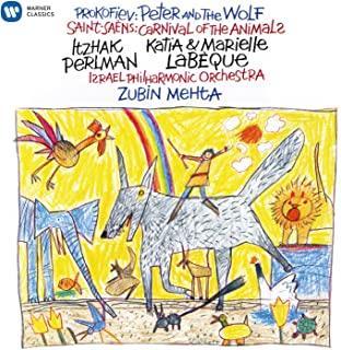 Saent-Saëns: Carnival of the Animals / Prokofiev: Peter and the Wolf Perlman narrates