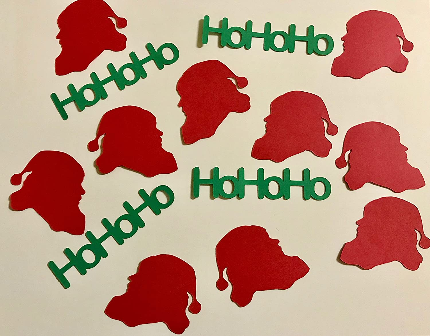 HoHoHo Popular shop is the lowest price challenge online shopping Santa Confetti Diecuts
