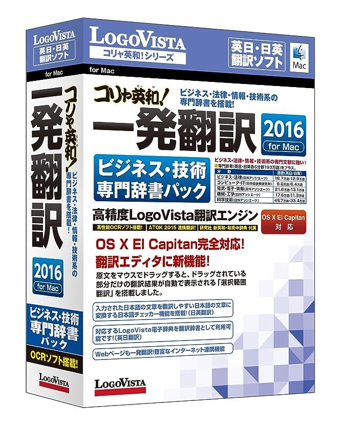花火数学的な期限切れコリャ英和!一発翻訳 2016 for Mac ビジネス?技術専門辞書パック