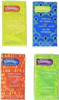 Kleenex Kimberly-Clark Kleenex White Facial Tissue, 32 Count - 10 3-ply White, 32 Count (Pack of 2)
