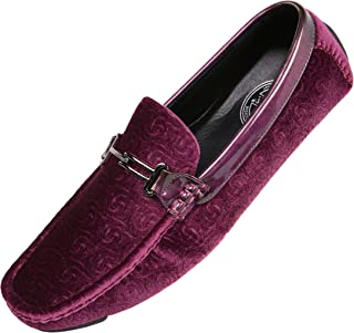 The Original Men's Velvet Loafer Smoking Slippers in Paisley and Solid Designs Styles Roberto Piero