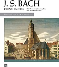 Bach -- French Suites (Alfred Masterwork Edition)