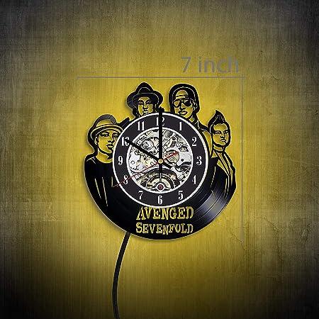 LED Vinyl Clock My Morning Jacket LED Wall Art Decor Clock Original Gift 7173