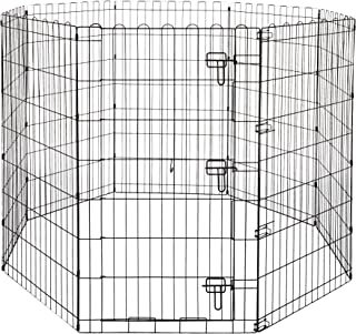 "AmazonBasics Pet Pens, 42"", with door"