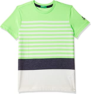 United Colors of Benetton Boy's Striped Regular fit T-Shirt