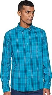 John Miller Men's Checkered Slim fit Casual Shirt