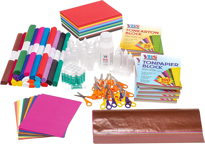 VBS Großhandelspackung 1451 TLG. Bastelpapier-Set Bastelpapier-Set Bastelpapier-Set B074CWCXQX | Quality First  8ff07e