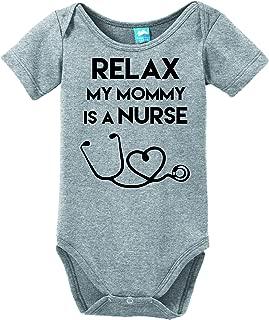nurse baby onesie