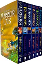 Warrior Cats Series 2: The New Prophecy by Erin Hunter 6 Books Set (Midnight, Moonrise, Dawn, Starlight, Twilight, Sunset)...