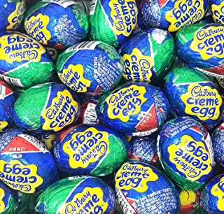 CADBURY Milk Chocolate Creme Easter Candy Eggs , 1.2 Oz, Full Size Eggs, 48 Count