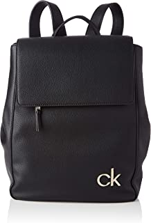 Calvin Klein Damen Flap BP ZUBEHÖR, Black, One Size