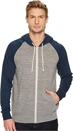 Threads 4 Thought - Malibu Raglan Hoodie