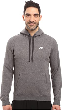 9e085f63bc62 Charcoal Heather Charcoal Heather White. 404. Nike. Club Fleece Pullover  Hoodie