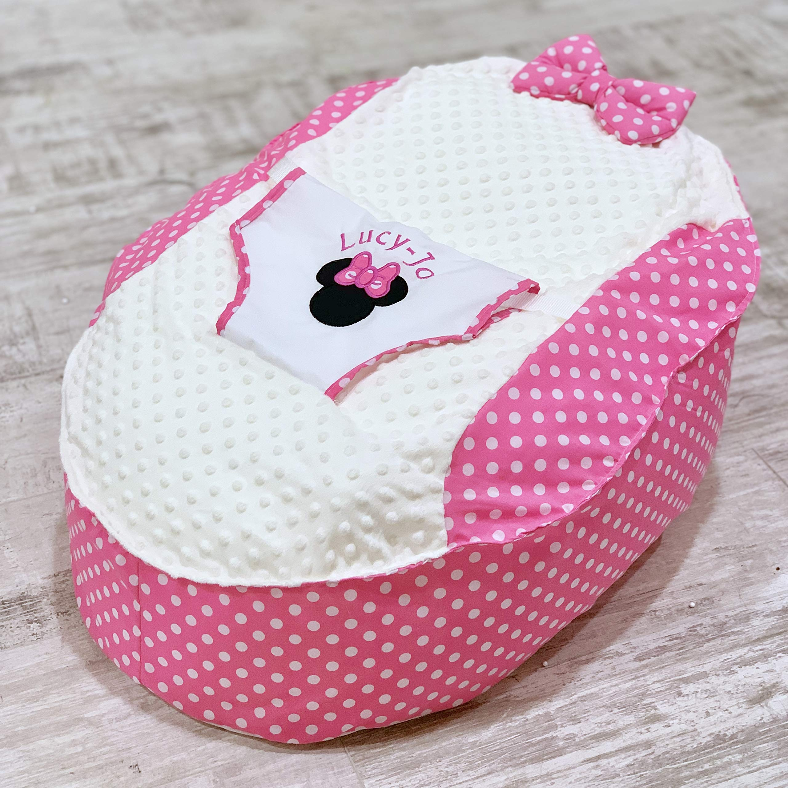 PERSONALISED PRE FILLED BABY BEAN BAG CHAIR SEAT NEWBORN GIRLS BOYS NEWBORN ME TO YOU TATTY TEDDY NEXT DAY DISPATCH