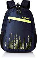 Amazon Brand - Solimo Trellis Laptop Backpack for 15.6-inch Laptops (35 litres, Blue)