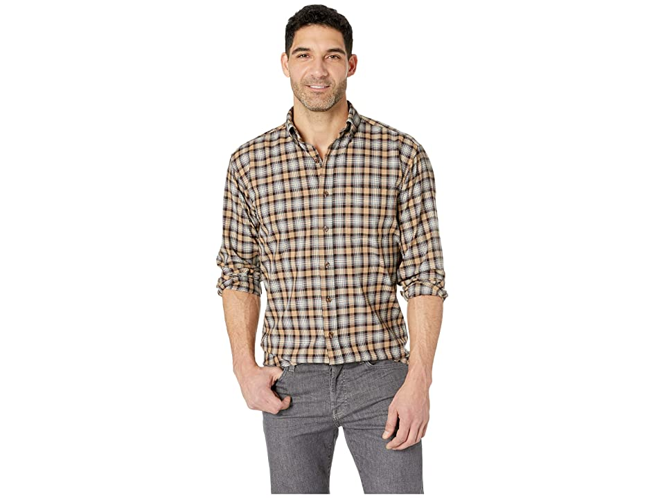 Pendleton Sir Pendleton Button Down Shirt (Stewart Camel Tartan) Men