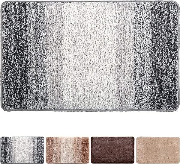 Julone Indoor Doormat No Odor Non Slip Rubber Backing Super Absorbent Mud And Water Door Mats Inside Entrance Floor Rugs Pet Mat Machine Washable Carpet Grey Snowflakes 20 X 31 5