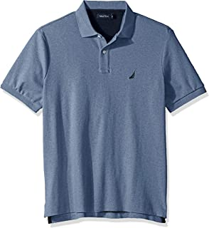 Men's Classic Fit Short Sleeve Solid Soft Cotton Polo Shirt
