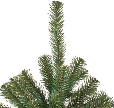 Christopher Knight Home 307332 7-Foot Noble Fir Unlit Hinged Artificial Christmas Tree, Green