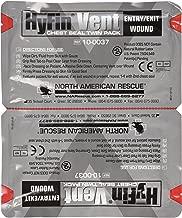 North American Rescue Hyfin Vent Chest Seal, 2 Count