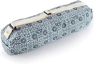 Lotuscrafts Bolsa Yoga para Esterilla PUNE - Justa y Ecológica - Funda Esterilla Yoga - Bolsa Esterilla Yoga - Bolsa para Esterilla De Yoga y Accesorios Yoga - Yoga Mat Bag