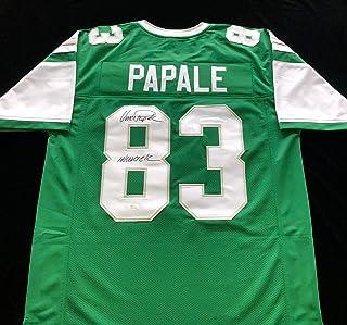 7fae7c73c Vince Papale Philadelphia Eagles Signed Autograph Jersey JSA COA