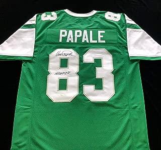 Vince Papale Philadelphia Eagles Signed Autograph Jersey JSA COA