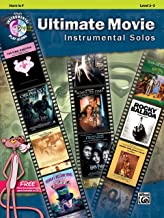 Ultimate Movie Instrumental Solos: Horn in F, Book & CD (Ultimate Pop Instrumental Solos Series)