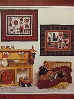 Countryside Sampler: Santa and Uncle Sam Wall Quilts