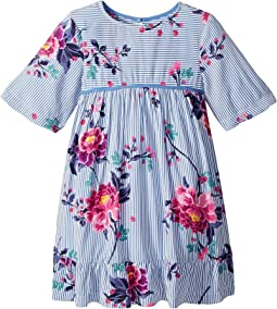 Floral Woven Peplum Dress (Toddler/Little Kids)