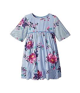 Floral Woven Peplum Dress (Toddler/Little Kids)