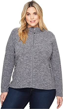 Roper - Plus Size 1464 Cationic Charcoal Micro Fleece