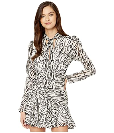 Bardot Printed Dress (Zebra) Women