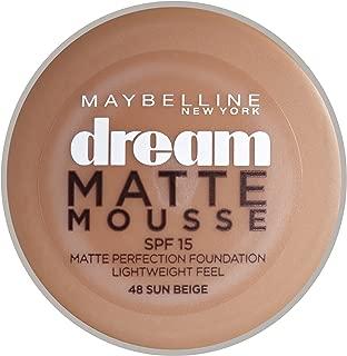 Maybelline New York Dream Matte Mousse Foundation Sun Beige 48