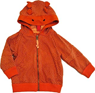 Genuine Kids by OshKosh Toddler Boys' Lizard Hoodie Jacket, Copper