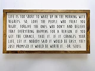 Best life is too short dr seuss quote Reviews