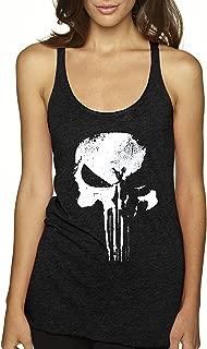 New Way 687 - Women's Tank-Top New Daredevil Punisher Skull Logo