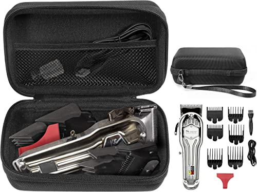 high quality getgear sale Case for Surker Mens Hair Clippers Cordless Hair Trimmer Haircut, also fit for Kemei Professional Hair Clippers, organizer popular for clippers/trimmers, combs, charger outlet sale