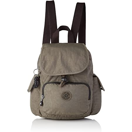 Kipling Womens City Pack Mini Backpacks, Green Moss, 14x27x29 cm