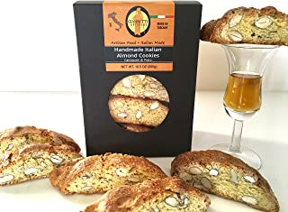Giannetti Artisans Italian Handmade Almond Biscotti - Imported from Prato, Italy - 10.58 oz