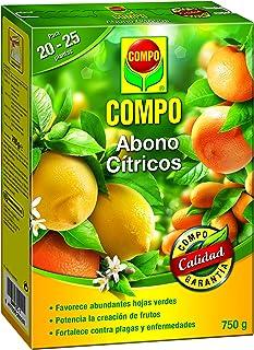 Compo 750 g Abono para cítricos, Efecto de Larga duración de 4 semanas, Negro