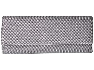 Jessica McClintock Bre East/Wast Clutch (Silver) Handbags