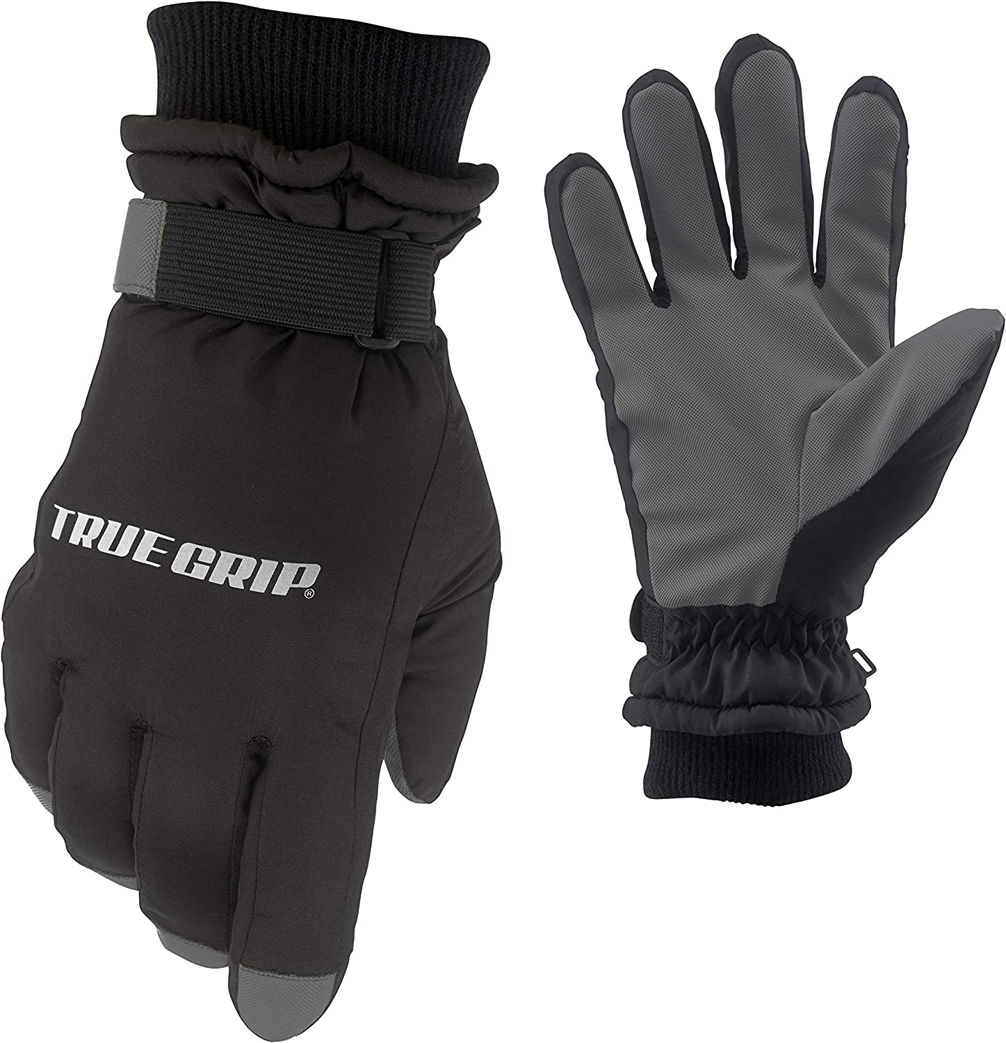 True Grip All Weather Winter Glove with Water Shedding Shell   40g Thinsulate Insulation