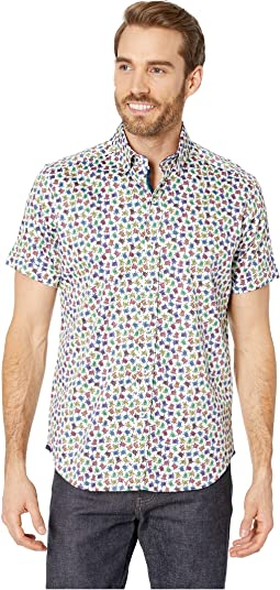 Turtles Tailored Fit Sports Shirt