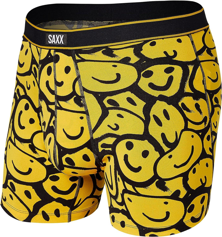 SAXX Underwear Men's Boxer Briefs - DAYTRIPPER Men's Underwear - Boxer Briefs with Built-In BallPark Pouch Support, Fall 2021