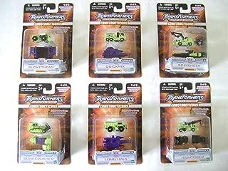 Transformers Universe Constructicons Devastator MicroMaster Series II Set (Buckethead, Quickmix, Scavenger, Bonecrusher, Long Haul, and Hightower)